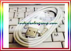 Original Apple iPod Shuffle 3rd & 4th 5th 6th Gen USB Sync & Charger Cable 1000mm