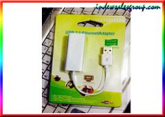 USB 2.0 TO RJ45 Ethernet Lan Adapter For Apple Macbook Mac PC 10/100Mbps