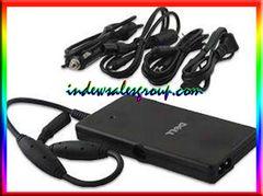 OEM Dell PA-12 Slim Auto-Air AC Adapter Travel Kit 0DK138