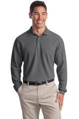 Port Authority® Long Sleeve EZCotton™ Pique Polo