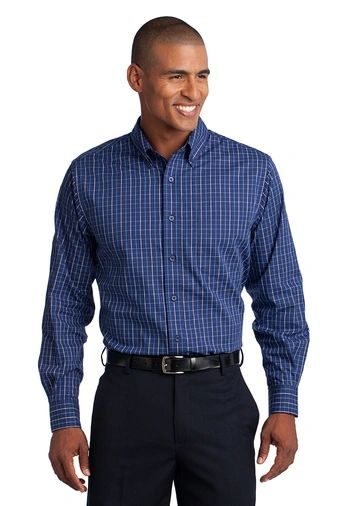 Port Authority® Tattersall Easy Care Shirt
