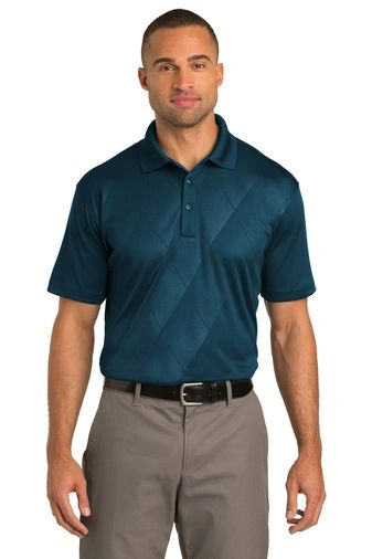 Port Authority® Tech Embossed Polo