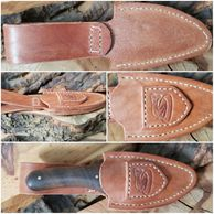 Leather Snake Sheath