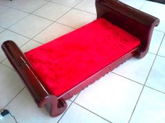 COURTNEY DOG SLEIGH BED LARGE