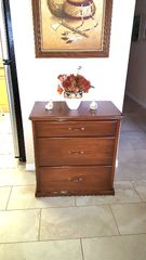 3 DRAWER FREE STANDING STORAGE CHEST (CREDENZA)