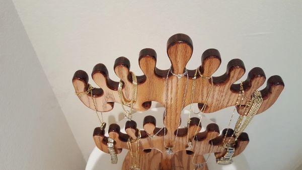 Two Tier Jewelry Tree