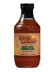 Smokin Brothers Adam's Apple BBQ Sauce