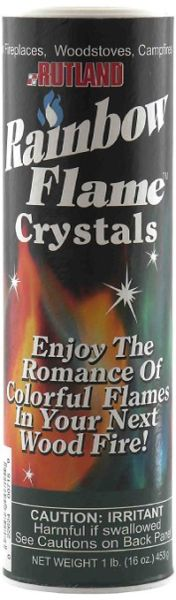 Rutland Rainbow Fire Crystals (16oz)