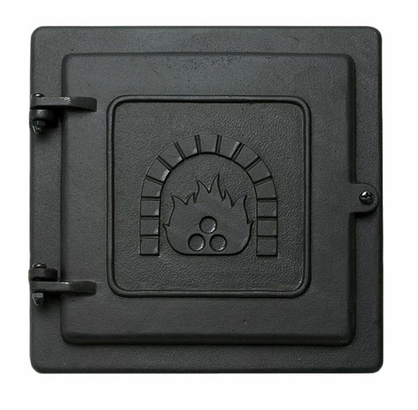 "8"" x 8"" Cast Iron Clean-Out Door"