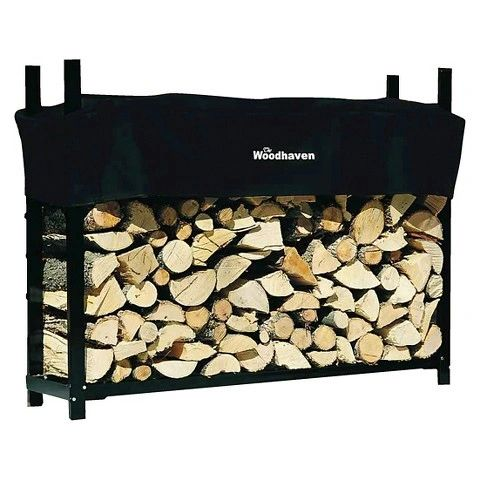 5' Woodhaven Firewood Rack and Cover