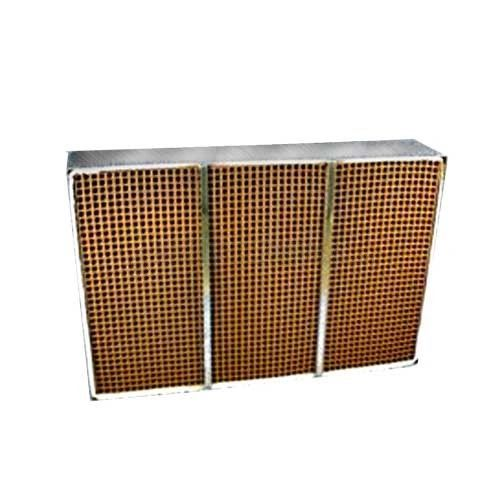 """Replacement Catalytic Combustor - 6.96"""" x 10.6"""" x 2"""" w/ metal band"""