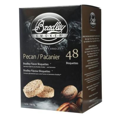 Bradley Smoker Pecan Bisquettes 48 Pack