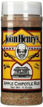 John Henry's Apple Chipotle Rub Seasoning
