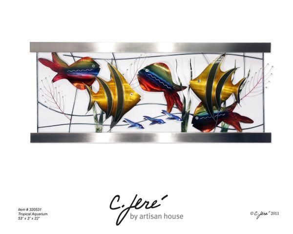 Tropical Aquarium by Artisan House (Original Piece)