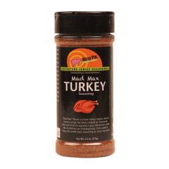 Dizzy Pig Mad Max Turkey Seasoning (Limited Release)