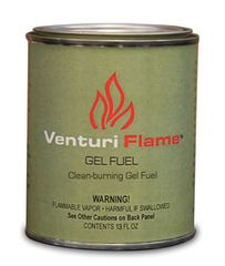 13 oz. Venturi Flame Company Gel - Outdoor GreatRoom