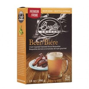 Bradley Smoker Beer Bisquettes 48 Pack