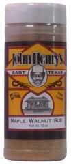 John Henry's Maple Walnut Seasoning Rub