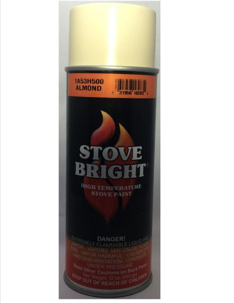 Stove Bright Fireplace Paint - Almond