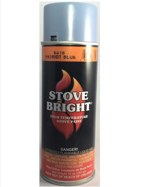 Stove Bright Fireplace Paint - Patriot Blue
