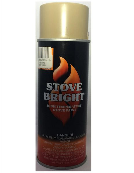 Stove Bright Fireplace Paint - Sand