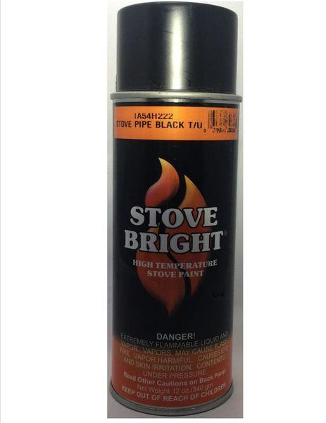 Stove Bright Fireplace Paint -DuraVent Black