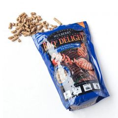 BBQr's Delights Mulberry Pellets 1 lb.