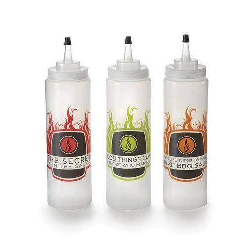 Oil/Marinade Bottles (3)