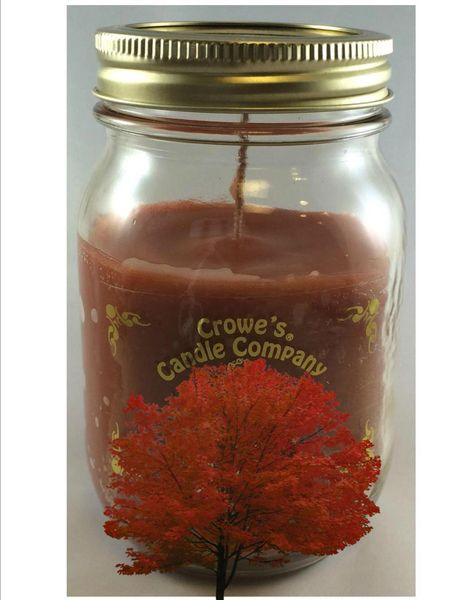 Autumn Maple Candle