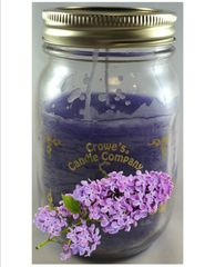 Lilac Candle