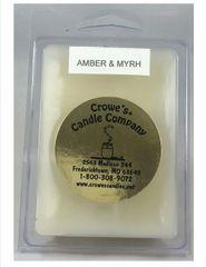 Amber & Myrh Candle Melts (6 Pack)