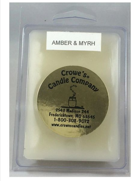 Amber & Myrh Candle Melts (6 Pack)