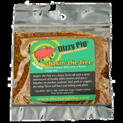 Dizzy Pig Shakin' The Tree SAMPLE SIZE Rub