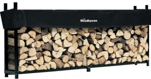 10' Woodhaven Firewood Rack and Cover