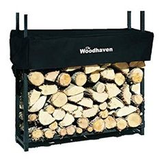 4' Woodhaven Firewood Rack and Cover