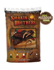 Smokin Brothers PURE Mesquite Pellets 20 lbs.