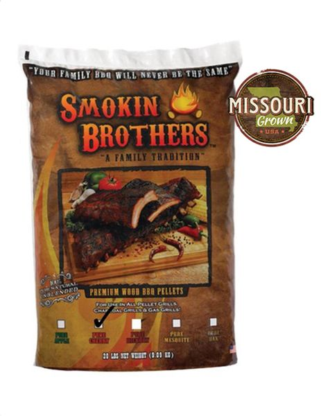 Smokin' Brothers PURE Cherry Pellets 20 lbs.