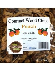 Peach Wood Chips