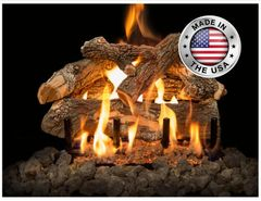 Arizona Weathered Oak Gas Log Set by Grand Canyon Gas Logs