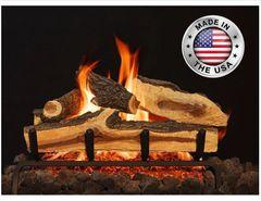 Blue Pine Split Gas Log Set by Grand Canyon Gas Logs