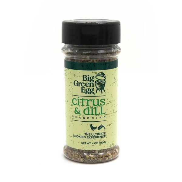 The Big Green Egg Citris & Dill Seasoning