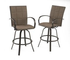 Outdoor GreatRoom Company Empire Bar Stools (Set of 2)