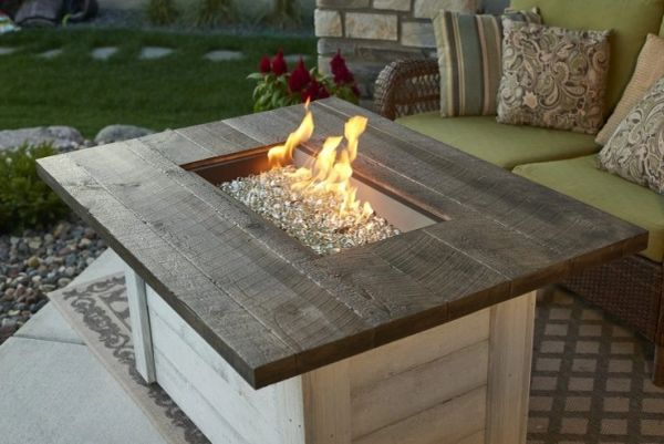 Outdoor GreatRoom Company Alcott Fire Pit Table
