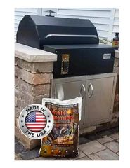 "Smokin Brothers Premier 30"" Built-In Pellet Grill"