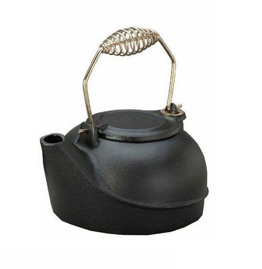 2.5 Qt Black Painted Cast-Iron Kettle