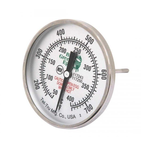 The Big Green Egg Oversized Temperature Gauge