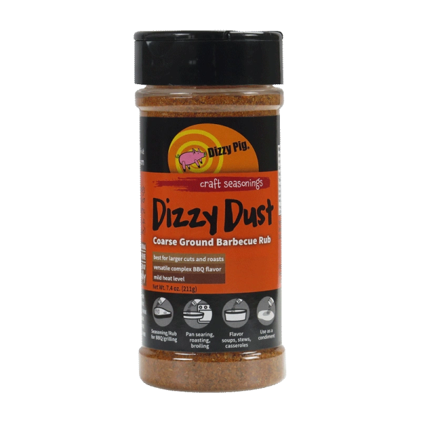 Dizzy Pig Dizzy Dust Rub - Coarse