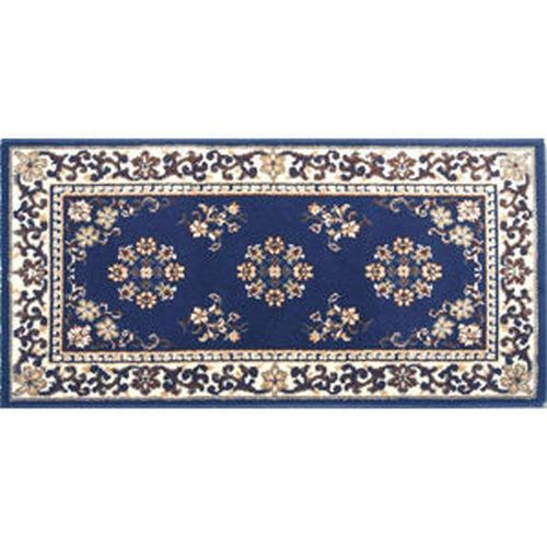 Blue Oriental Hearth Rug