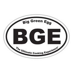 """The Big Green EGG 5"""" Oval Magnet"""