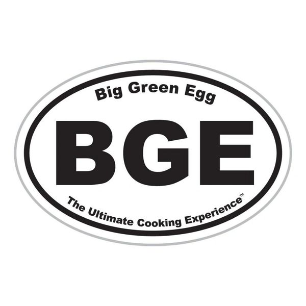 "The Big Green EGG 5"" Oval Magnet"